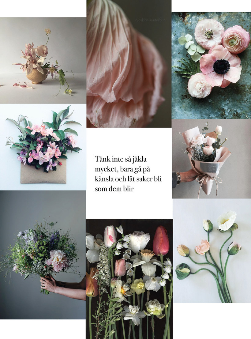 Jag ska bli florist!