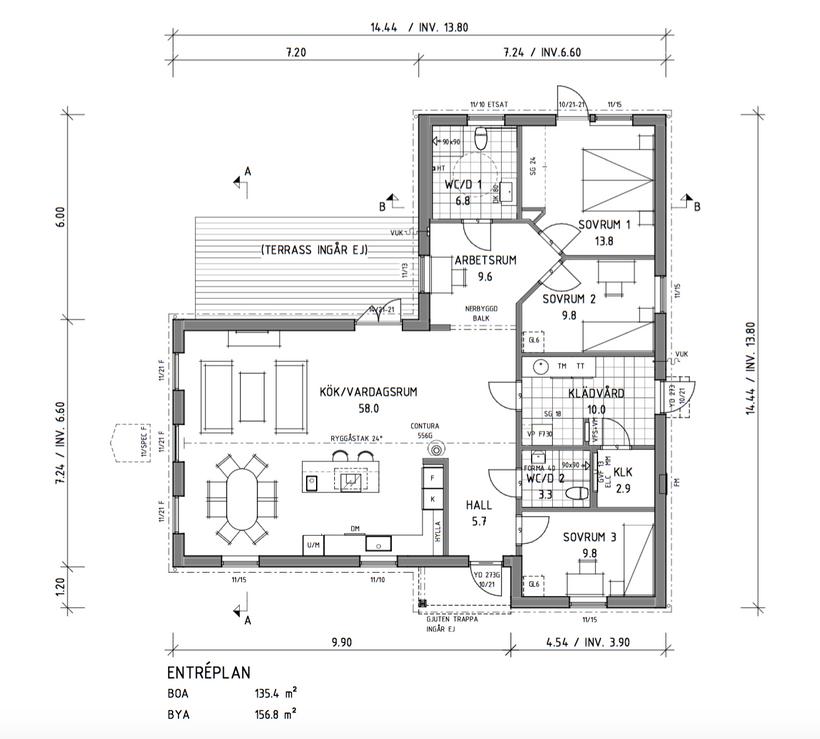 Husbygge del 3 - planlösning