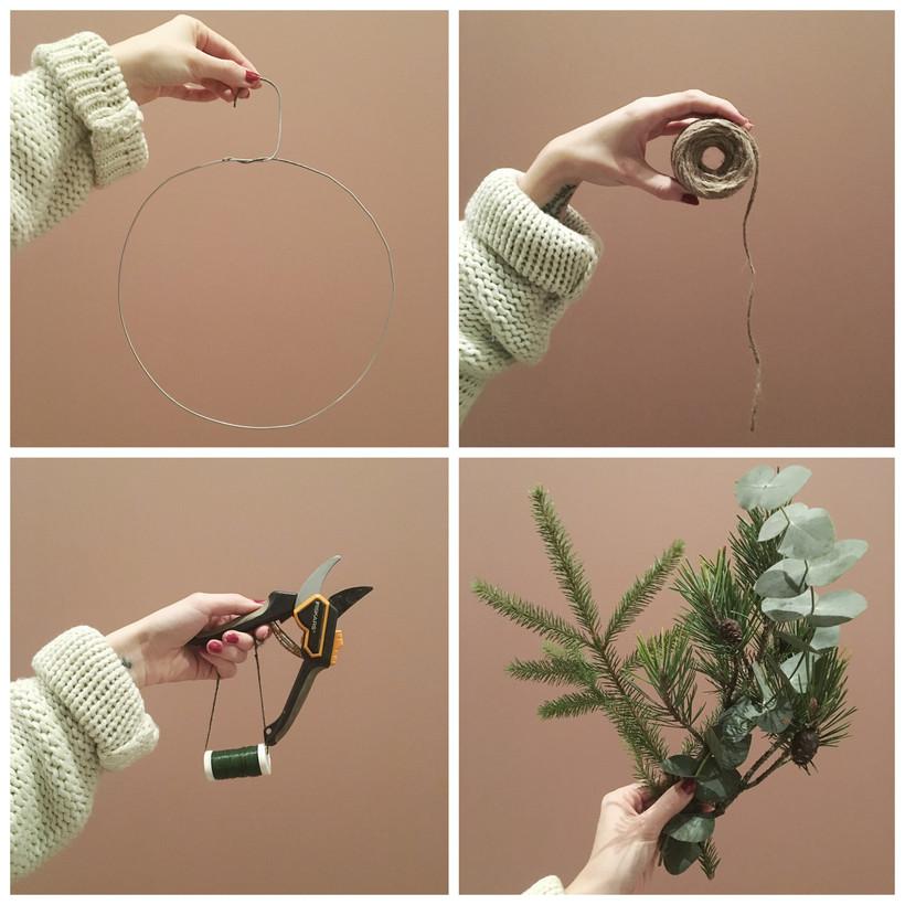 Gör din egen julkrans