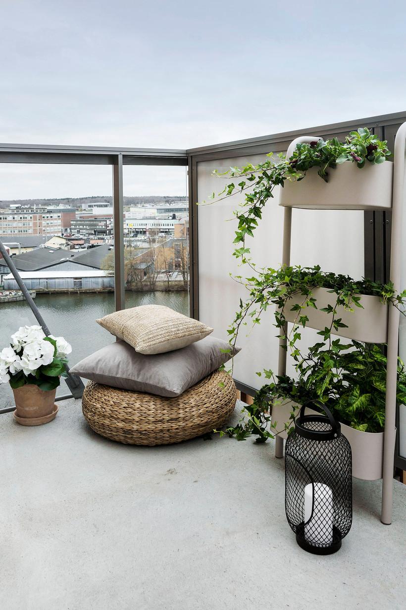 """Hur inreder jag min lilla balkong?"""