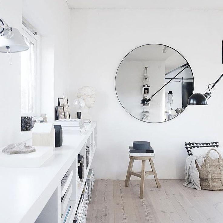 rund spegel 110 cm