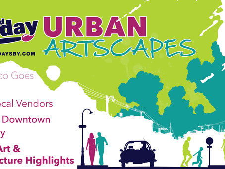 3rd Friday Sept 18th - Urban Artscapes