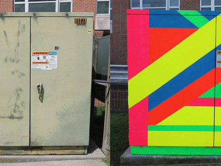Public Art Opportunity - Artist Sought to Paint Electric Utility Boxes in Downtown Salisbury