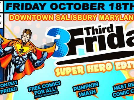 Oct 18th - SUPER HEROES!