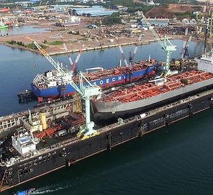 Paxocean Shipyard in Batam
