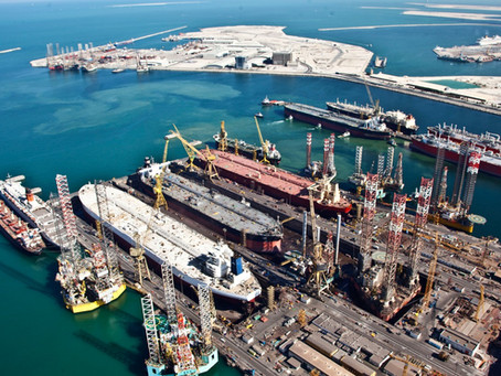 Exciting projects underway at Drydocks World, Dubai