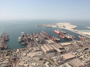 Drydocks World Dubai_Yard