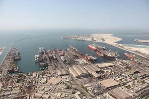 Drydocks World Dubai_Yard