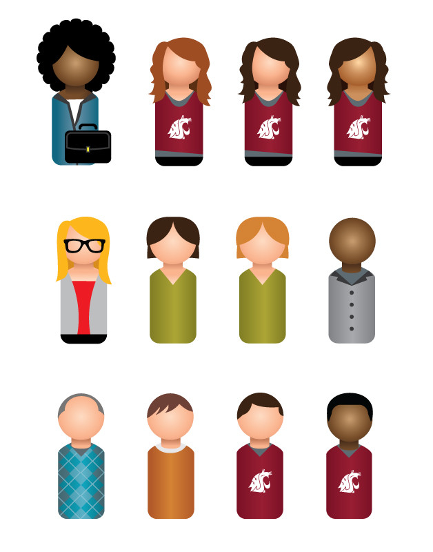 Peg Characters
