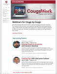 CougsWork home page