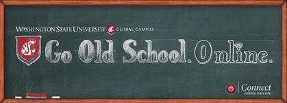 Go Old School Chalkboard