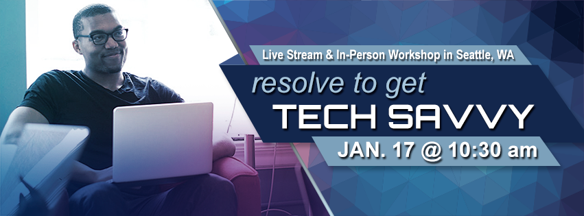 Resolve to get Tech Savvy