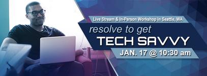 Resolve to get Tech Savvy