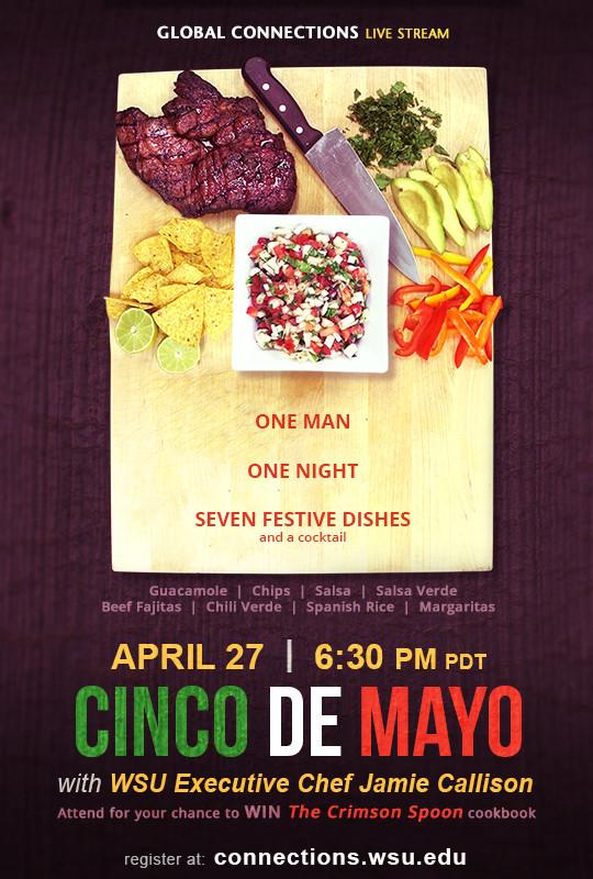 Cinco De Mayo Cooking webinar