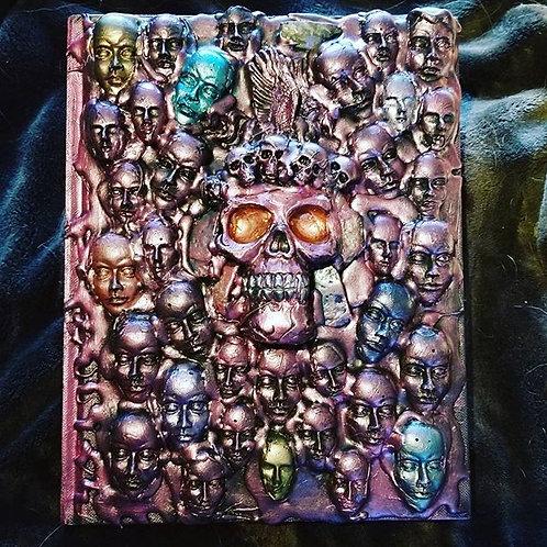 3-D Skull Journal