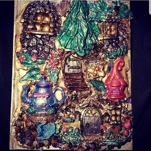 3-D Fairy Village Journal