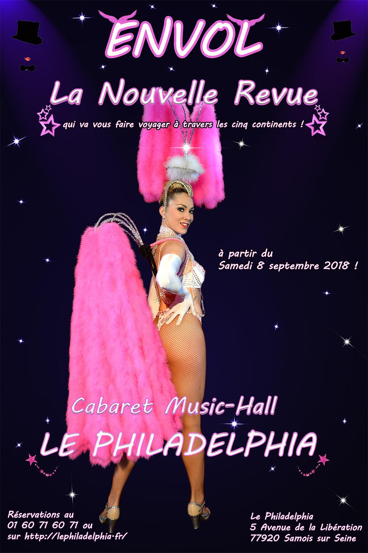 Revue Envol, le Philadelphia à Samois sur Seine