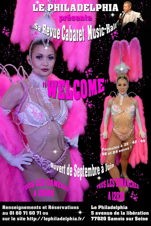 "Samedi 21 Octobre et Dimanche 22 Octobre ""Revue Welcome"""