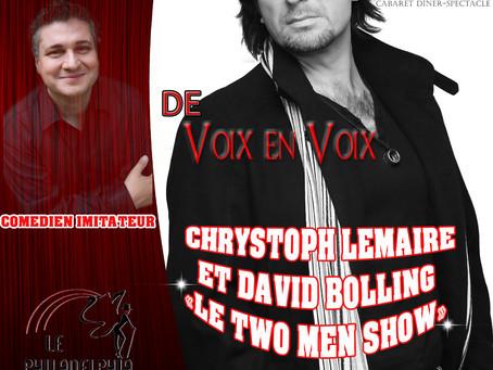 Chrystoph Lemaire et David Bolling au Philadelphia le 18 Novembre 2017!