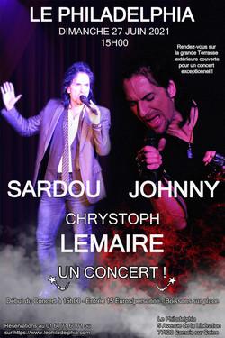 Chrystoph Lemaire chante Johnny et Sardou