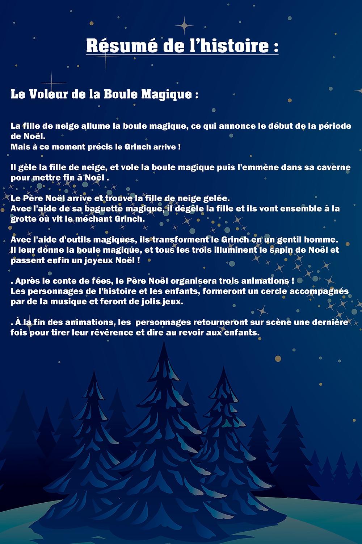 Spectacle pour Enfants le 13 et 20 Décembre à 15H00.