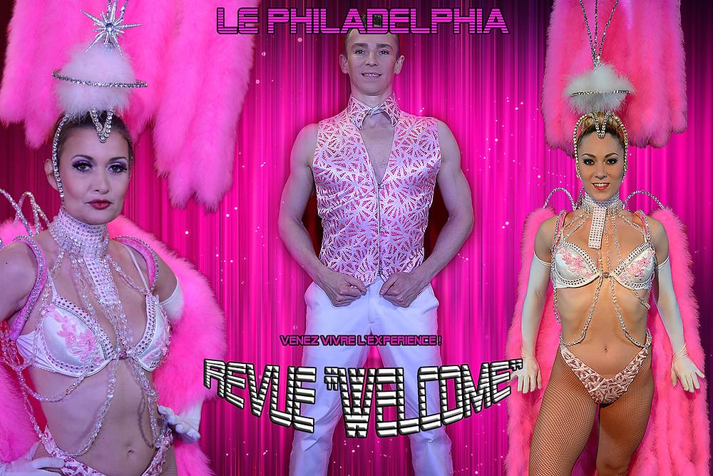 Revue Welcome, le Philadelphia à Samois sur Seine