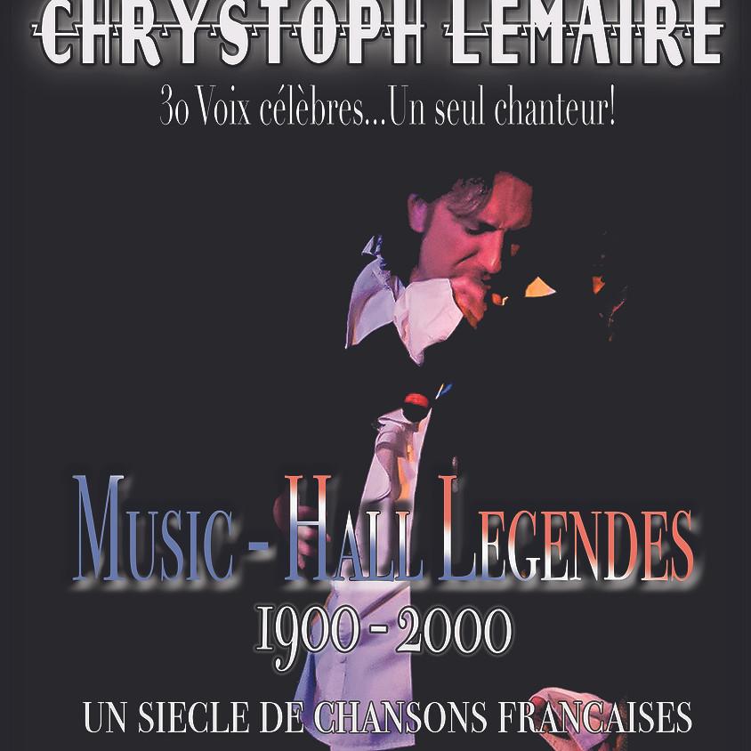 Music-Hall Légendes - Samedi 2 Octobre 2021 - 20h00