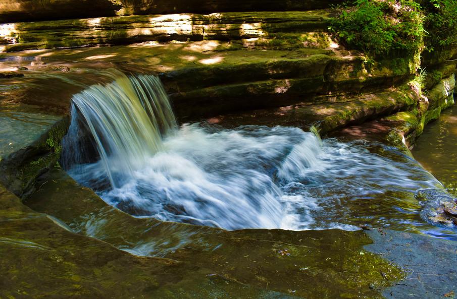 Small Waterfall at Mattheissen