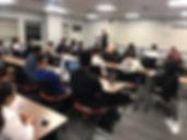 JJ Wenrich Speaking to Finance Class at