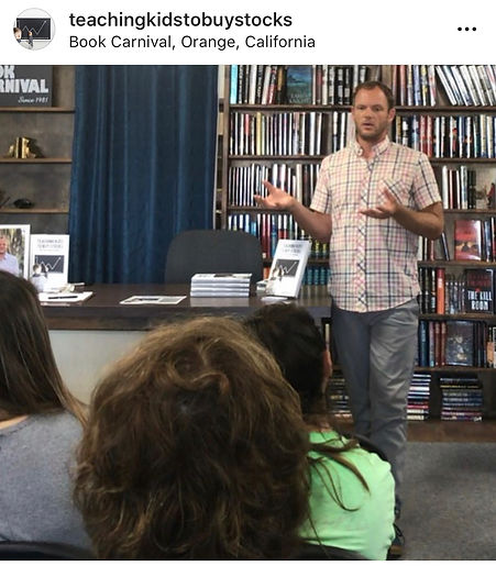 JJ Wenrich Speaking at Book Carnival