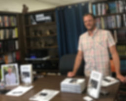 JJ Wenrich at Book Carnival Book Signing