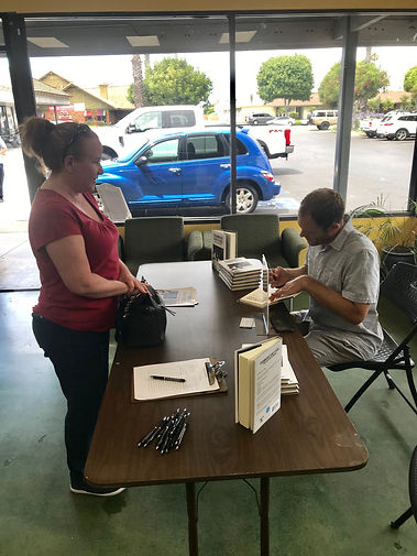 JJ Wenrich Signing Books at The Bookman