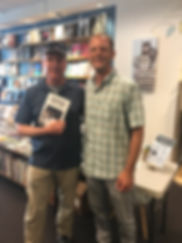 Warwicks Book Signing Picture with Edito