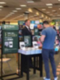 JJ Wenrich at Barnes & Noble in Aliso Vi