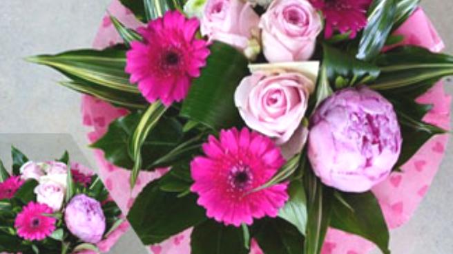 bouquet rond coloris au choix