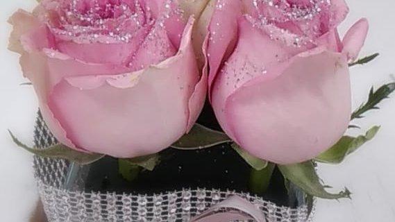 Carré de roses