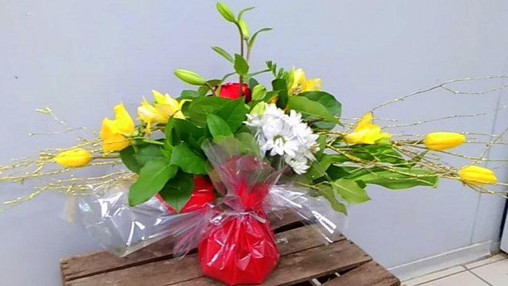 bouquet allongé