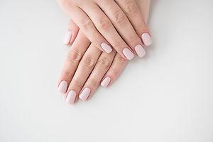 bigstock-Manicured-Hands-On-White-Backg-