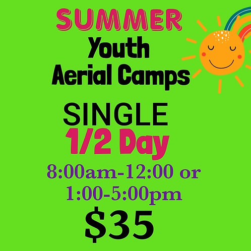 Single 1/2 Days JUNE Camp