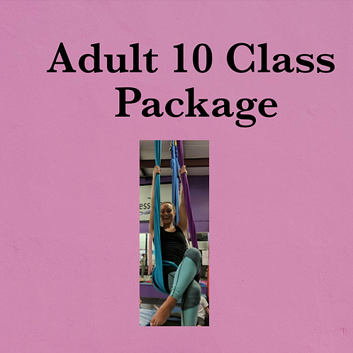 Adult 10 Class Package