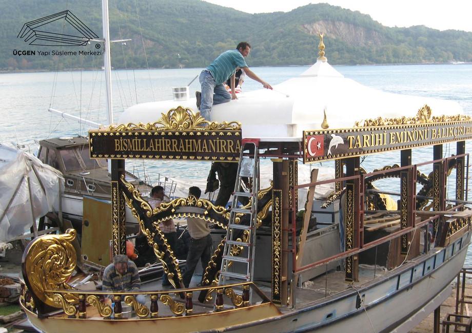 Historing Eminönü Fishing Boat