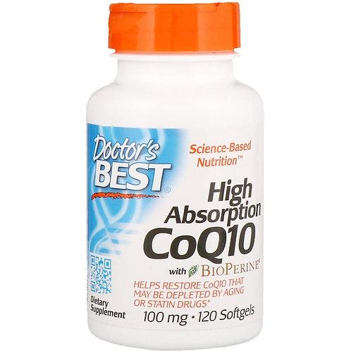 High Absorption CoQ10 with BioPerine® (100 mg)