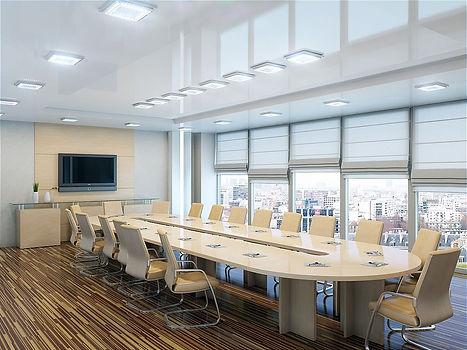 Светильники светодиодные в офисе