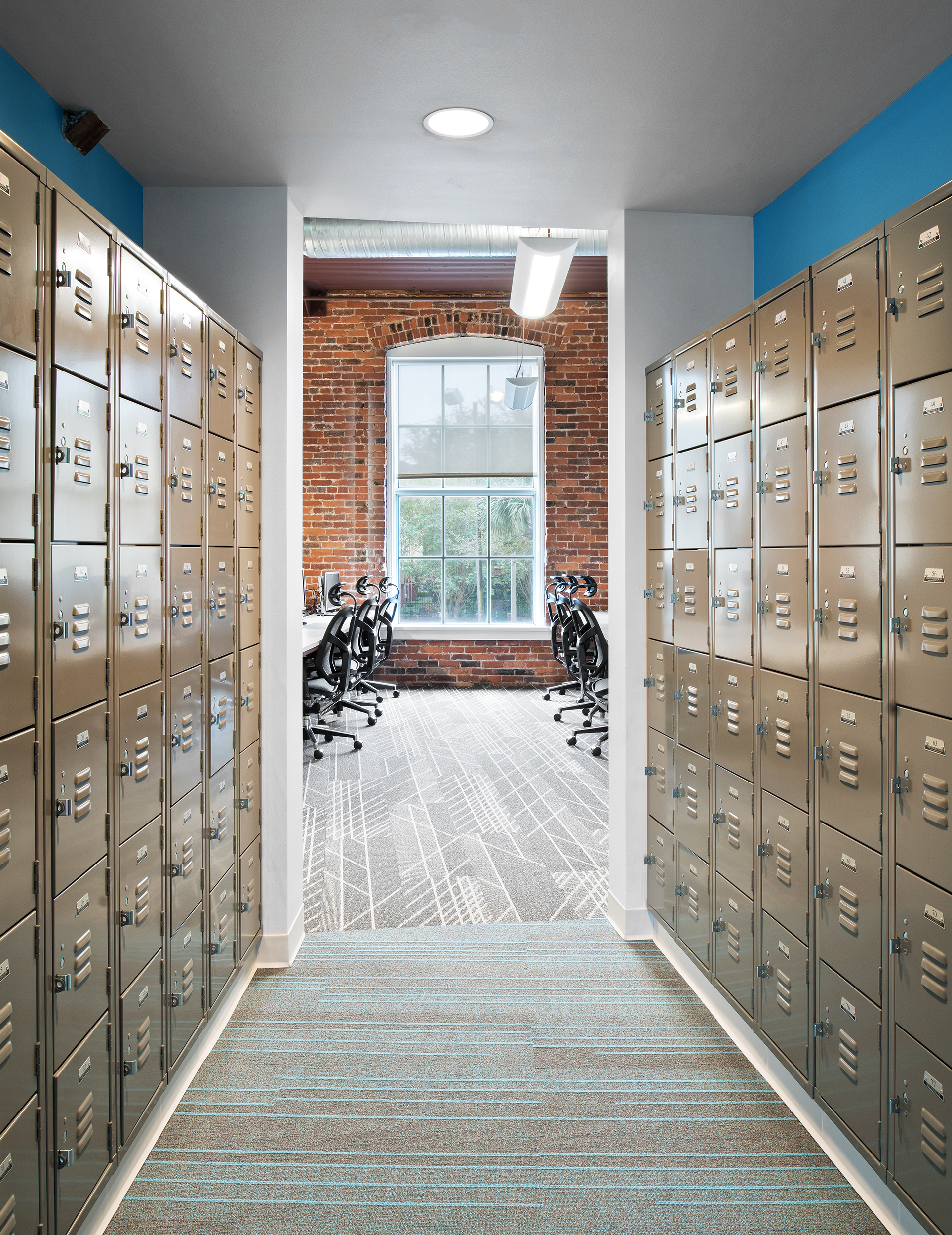 Create+Co : Transferwise - Lockers