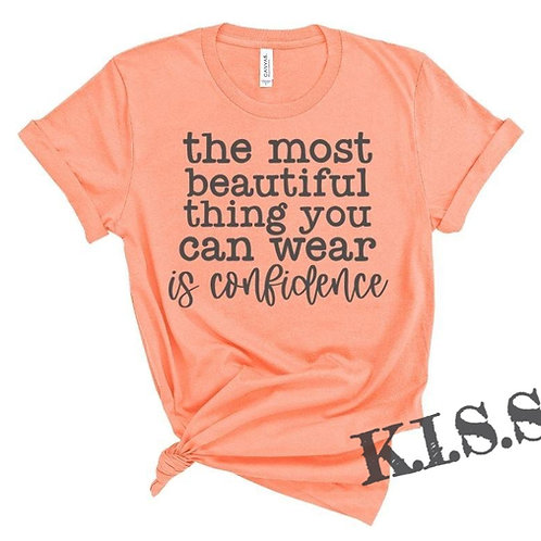 The Most Beautiful Thing You Can Wear is Confidence
