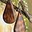 Thumbnail: Snakewood Small Teardrop