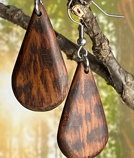 Snakewood Small Teardrop