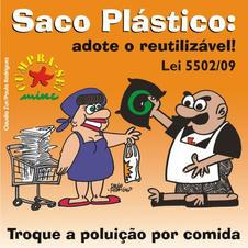 Saco Plástico Reutilizável
