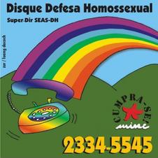 Disque Defesa Homossexual
