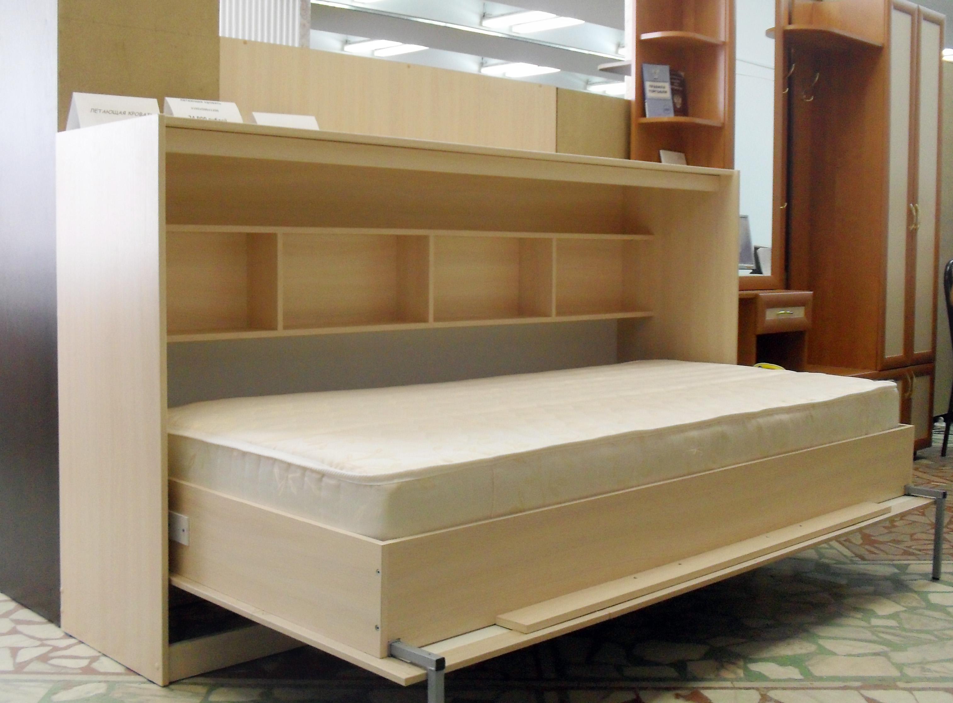 внутренний вид шкафа-кровати